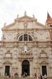 Iglesia de San Moise en Venecia, Italia fotos de archivo libres de regalías
