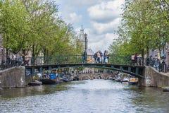 Iglesia de San Nicolás en Amsterdam, Países Bajos Fotografía de archivo