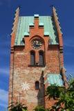 Iglesia de San Nicolás en Trelleborg en Suecia imagenes de archivo