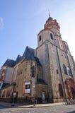 Iglesia de San Nicolás - Leipzig, Alemania foto de archivo