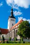 Iglesia de San Nicolás, Tallinn Foto de archivo