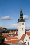 Iglesia de San Nicolás, Tallinn Fotografía de archivo libre de regalías