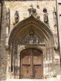 Iglesia de San Nicolas de Bari, Burgos ( Spain ) Stock Photo