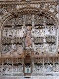 Iglesia DE San Nicolas de Bari, Burgos (Spanje) Stock Afbeelding