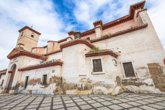 Iglesia De San Nicolas Granada Obrazy Royalty Free