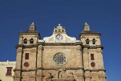 Iglesia de SAN Pedro Claver στην Καρχηδόνα de Indias, Κολομβία Στοκ Εικόνες