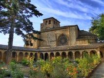 Iglesia de San Pedro de la Rua. Estella. Navarra Immagine Stock Libera da Diritti