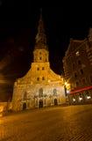 Iglesia de San Pedro en Riga, Latvia Imagen de archivo