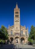Iglesia de San Pedro y de Paul en Potsdam foto de archivo libre de regalías