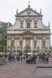 Iglesia de San Pedro y de San Pablo Fotos de archivo