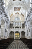 Iglesia de San Pedro y de San Pablo, interior de la iglesia imagen de archivo libre de regalías