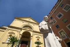 Iglesia de San Remo Imagen de archivo