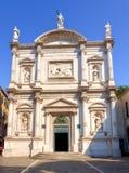 Iglesia de San Rocco, Venezia Fotografía de archivo libre de regalías