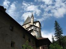 Iglesia de San Romedio fotografía de archivo