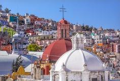 Iglesia de SAN Roque αγορά Mercado Hidalgo Guanajuato Μεξικό Στοκ εικόνα με δικαίωμα ελεύθερης χρήσης