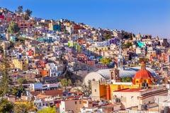 Iglesia De San Roque rynku Mercado hidalgo Guanajuato Meksyk Zdjęcia Royalty Free
