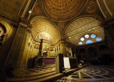 Iglesia de San Satiro del presso de Santa Maria foto de archivo libre de regalías