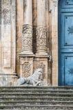 Iglesia de San Sebastiano en Palazzolo Acreide, Siracusa, Sicilia, imagenes de archivo