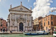 Iglesia de San Stae en Venecia Fotografía de archivo libre de regalías