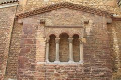 Iglesia de San Tirso, Oviedo, Spagna Fotografie Stock Libere da Diritti
