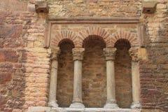 Iglesia de San Tirso, Oviedo, Spanien Lizenzfreies Stockfoto