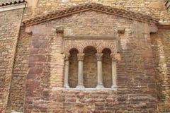 Iglesia de San Tirso, Oviedo, Spanien Lizenzfreie Stockfotos
