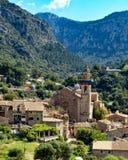 Iglesia de Sant Bartomeu, Mallorca Foto de archivo