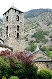 Iglesia de Sant Esteve en Andorra Fotos de archivo libres de regalías