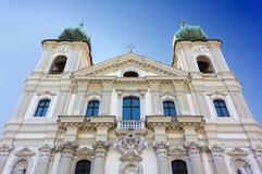 Iglesia de Sant Ignacio en Gorizia Fotografía de archivo libre de regalías
