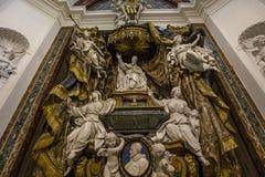 Iglesia de Sant Ignacio, Roma, Italia Foto de archivo libre de regalías