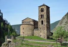 Iglesia de Sant Joan de Caselles Imagen de archivo libre de regalías