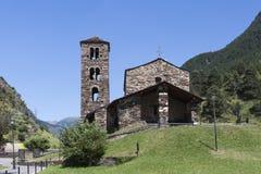 Iglesia de Sant Joan de Caselles Foto de archivo libre de regalías