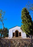 Iglesia de Sant Joan Hermitage en Denia fotos de archivo