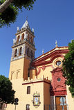 Iglesia De Santa Ana, Triana District, Seville, Spai Royalty Free Stock Image