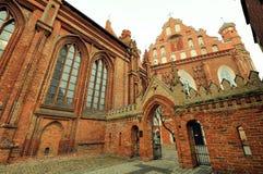 Iglesia de Santa Ana, Vilna, Lituania Imagen de archivo