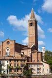 Iglesia de Santa Anastasia - Verona Italy imagenes de archivo