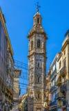 Iglesia de Santa Catalina, Valencia Imagen de archivo libre de regalías