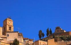 Iglesia de Santa Croce, Leonforte Imagen de archivo libre de regalías