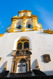 Iglesia de Santa Cruz Royalty Free Stock Photography