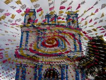 Iglesia de Santa Lucia, San Cristobal de Las Casas, Chiapas, México Fotos de archivo libres de regalías