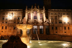 Iglesia de Santa María en Roma Fotografía de archivo libre de regalías