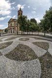 Iglesia de Santa Maria Assunta en Cislago Lombardía, Italia Fotografía de archivo libre de regalías