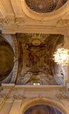 Iglesia de Santa Maria del Carmine de la capilla de Brancacci del techo, Florencia, Firenze, Toscany, Italia imágenes de archivo libres de regalías