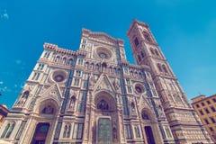 Iglesia de Santa Maria del Fiore en Florencia Fotografía de archivo