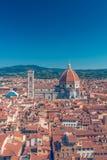 Iglesia de Santa Maria del Fiore en Florencia Fotos de archivo libres de regalías