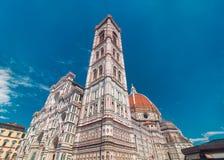 Iglesia de Santa Maria del Fiore en Florencia Fotografía de archivo libre de regalías