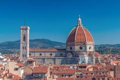 Iglesia de Santa Maria del Fiore en Florencia Imagenes de archivo