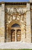 Iglesia de Santa Maria la Real, Sasamon, España Fotos de archivo libres de regalías