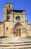 Iglesia de Santa Maria la Real, Sasamon, España Fotos de archivo