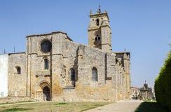 Iglesia de Santa Maria la Real, Sasamon, España Imagen de archivo